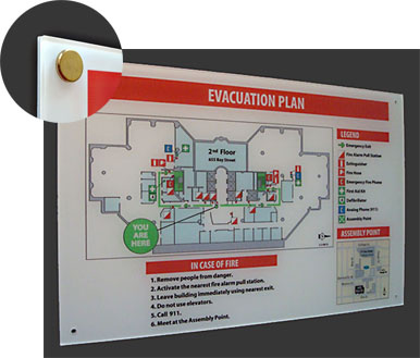 Building maps fire evacuation plans emergency evacuation maps free consultation and toll free help line sciox Images